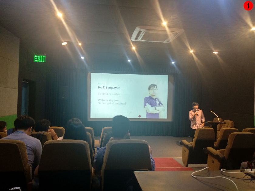 My first time giving a talk