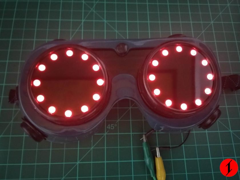 Goggle costume
