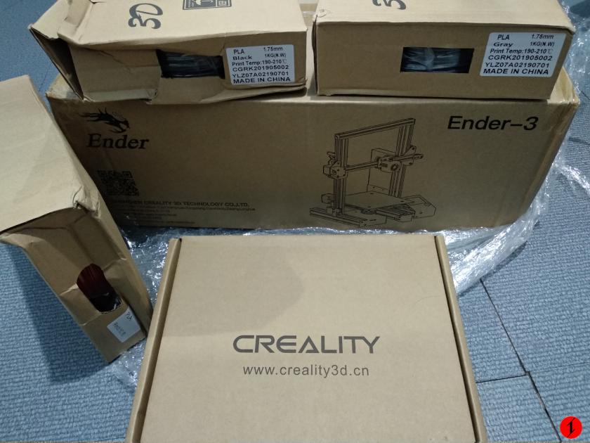 I bought a 3D printer